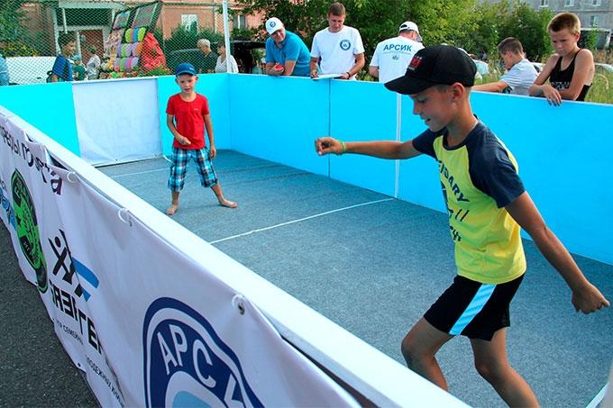 Шадринцы начнут развивать в Зауралье новый вид спорта - флэтбол