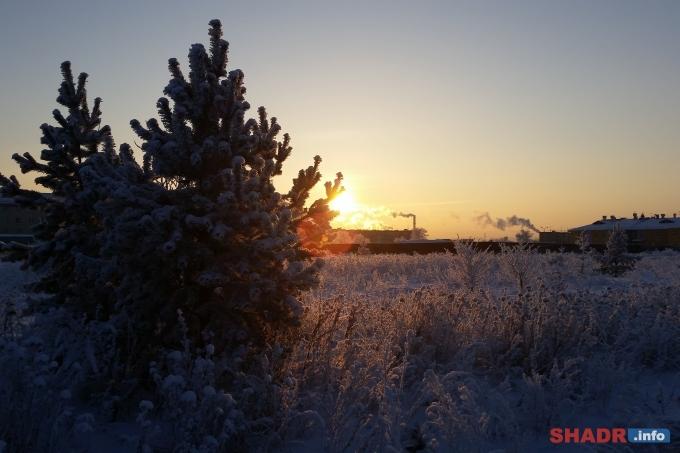 В Шадринске резко похолодает
