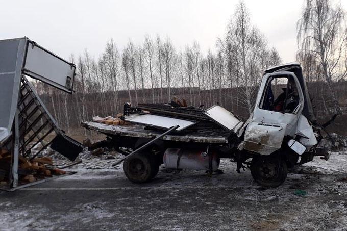 Очередное ДТП на месте ремонта дорог: ГАЗель съехала с проезжей части