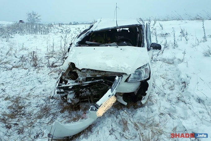 В Шадринском районе вновь пострадал ребенок-пассажир