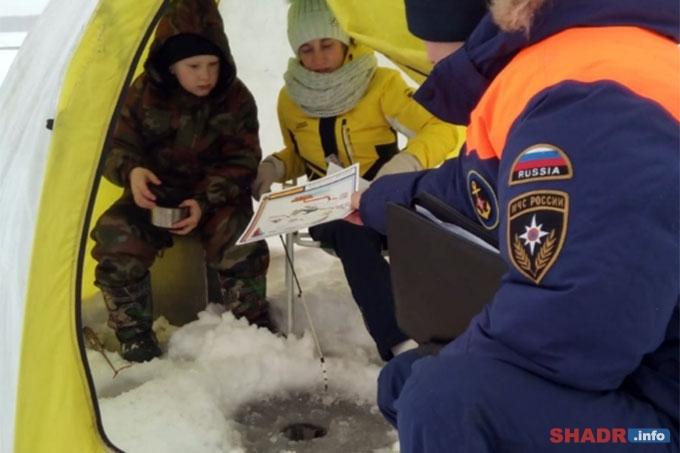 Участникам соревнований напомнили правила безопасного нахождения на льду
