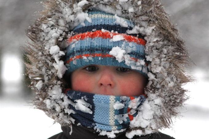 Правила профилактики обморожения при прогулках и работе на воздухе