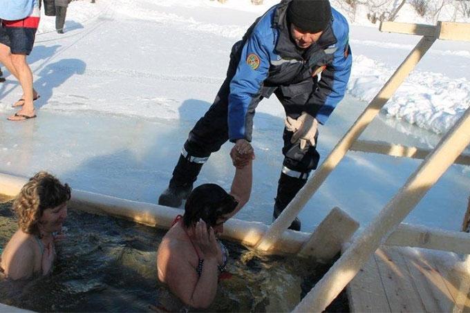Правила безопасности в Крещенские купания