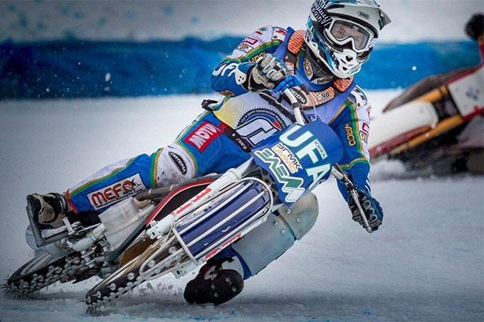 В Уфе завершился третий этап Командного Чемпионата России по ледовому спидвею