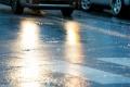 ГИБДД предупреждает о мокром снеге и гололеде