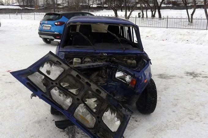 Житель Шадринска стал виновником ДТП