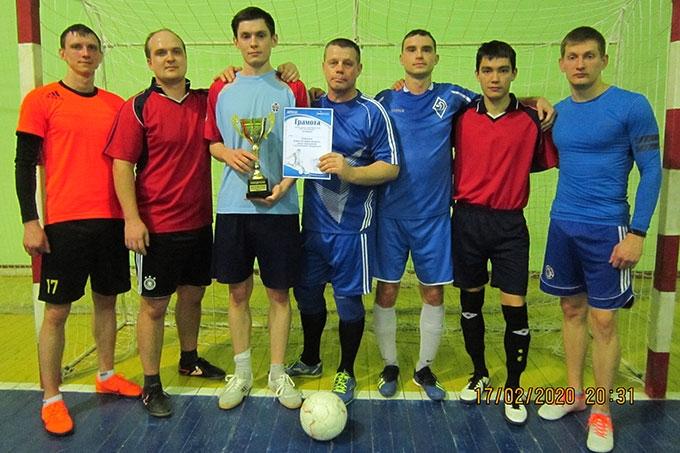 Сотрудники полиции выиграли турнир по мини-футболу