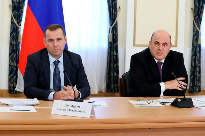 В Кургане с рабочим визитом побывал Председатель Правительства РФ Михаил Мишустин
