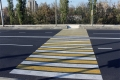 Одновременное присутствие на пешеходном переходе человека и автомобиля запрещено