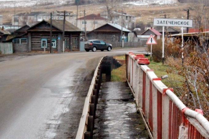 В селе Затеченское ужесточен режим передвижения