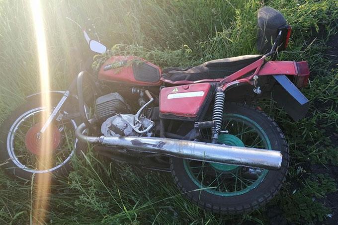 Два мотоциклиста устроили ДТП в Белозерском районе