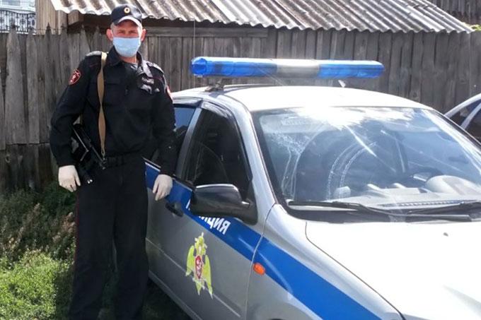 Сотрудники росгвардии задержали преступника