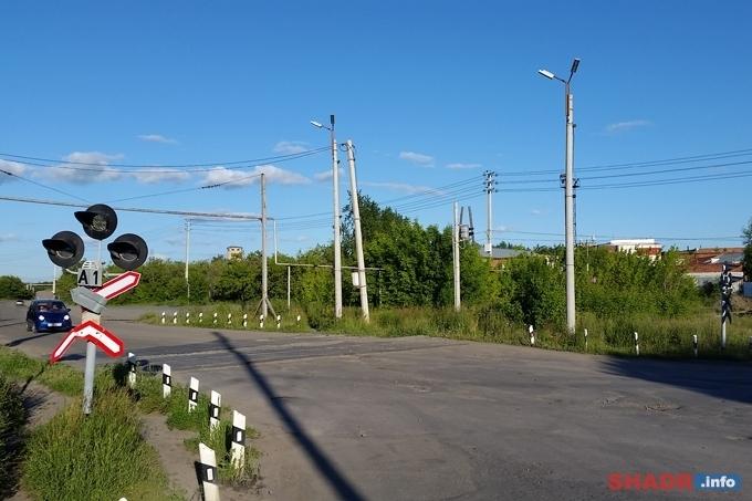 Железнодорожный переезд на улице Свердлова закроют на ремонт