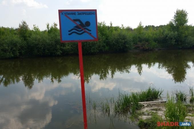 В Шадринске нет официальных пляжей и мест отдыха у воды