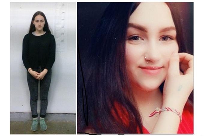 Разыскивается несовершеннолетняя Назаренко Виктория