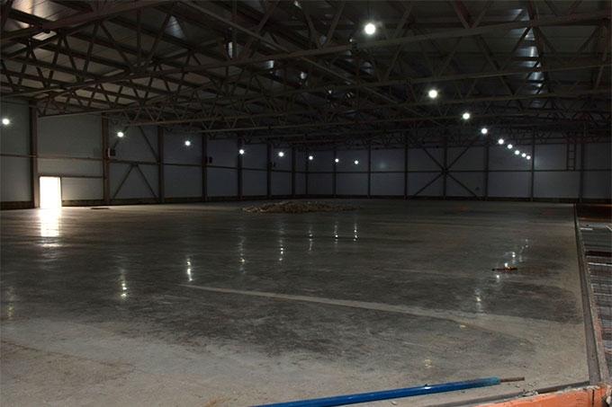 Корт ледовой арены готов. Отставаний от графика нет