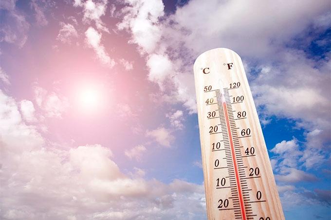 Из-за сильной жары в регионе объявлено штормовое предупреждение