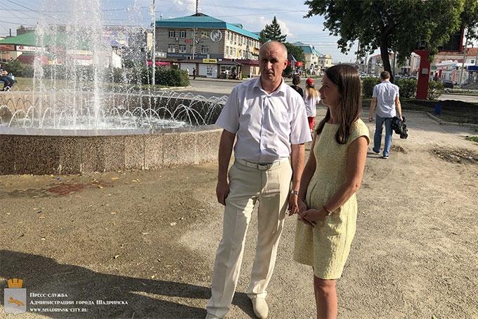 """Виктор Ермишкин: """"Мы знаем о проблеме в районе фонтана. Работы будут завершены"""""""