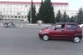 В Шадринске женщина-водитель допустила столкновение с мотоциклом