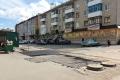 Теплоэнергетики восстанавливают дорожное покрытие после проведенных ремонтных работ