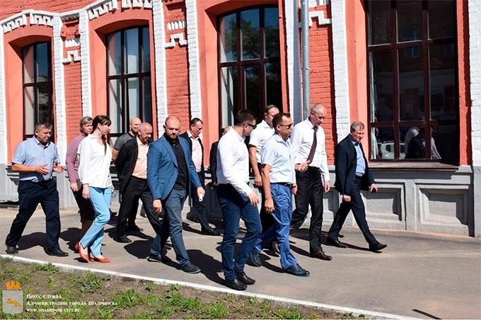 Вадим Шумков в очередной раз оценил ход благоустройства Шадринска
