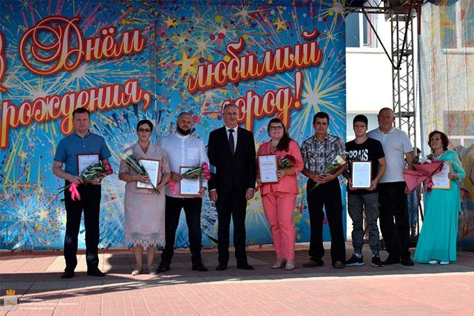 В День города выдающиеся шадринцы были отмечены грамотами и премиями