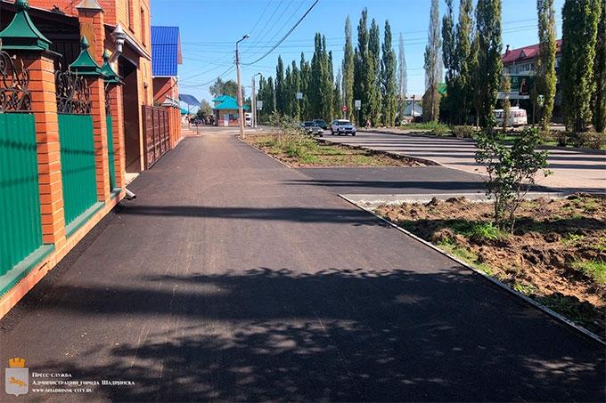 Ремонт улицы Свердлова завершается