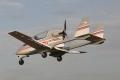 В Курганской области легкомоторный самолет приземлился на автодорогу