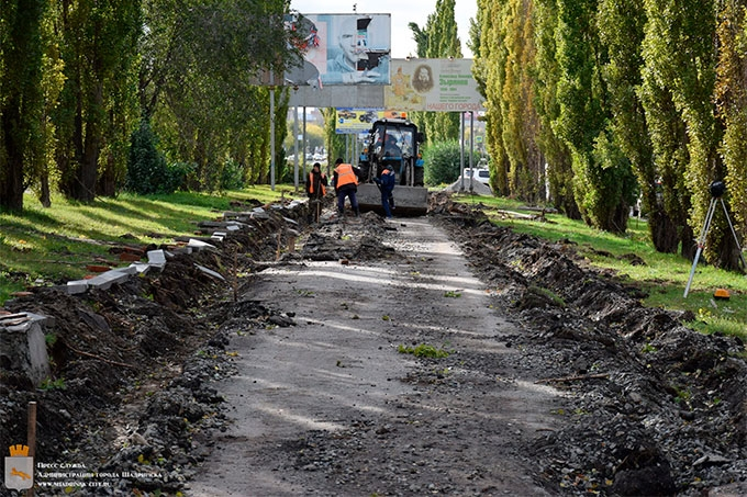 Аллею на улице Свердлова обновят