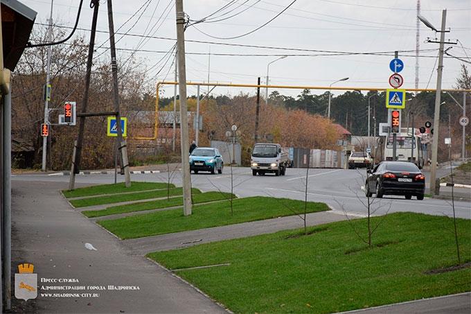 В Шадринске появилось еще 100 новых деревьев