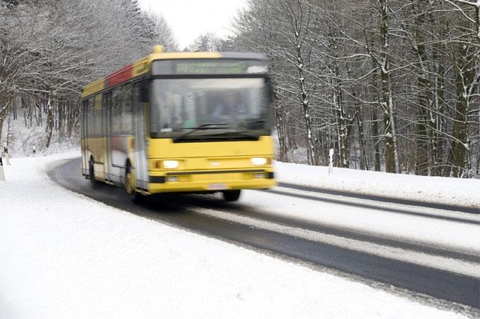 Автобусное движение в области восстановлено
