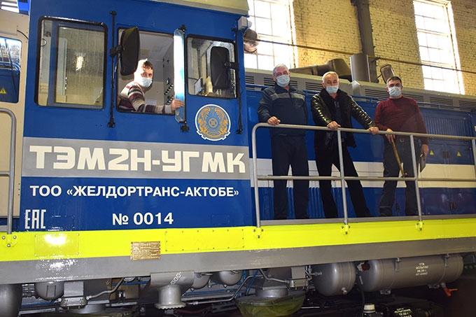 ШААЗ изготовил второй тепловоз ТЭМ2Н-УГМК для компании «ЖелДорТранс-Актобе»