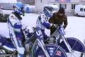 В Шадринск на тренировочные сборы по ледовому спидвею приехала команда из Уфы
