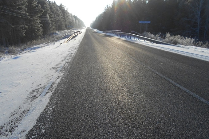 В регионе за год отремонтировано 400 километров автодорог