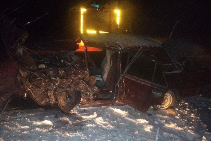 В Далматовском районе в результате ДТП погиб водитель