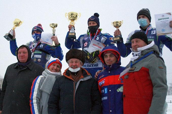 Дмитрий Хомицевич и Динар Валеев – лидеры Кубка России по ледовому спидвею