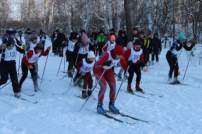 Шадринск принял областные соревнования по лыжным гонкам