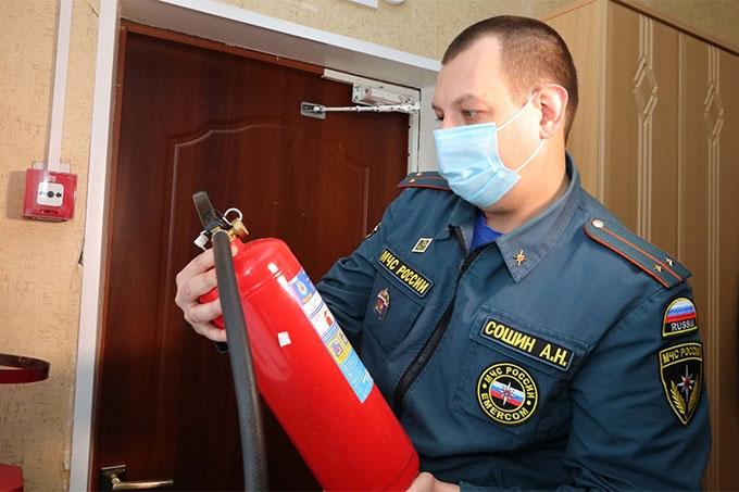В регионе идет проверка социальных объектов на пожарную безопасность