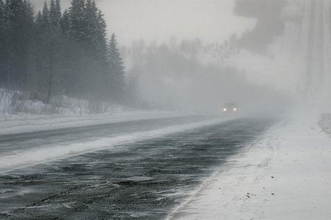В регионе очередное штормовое предупреждение