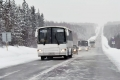 Автобусное движение по всем дорогам области открыто