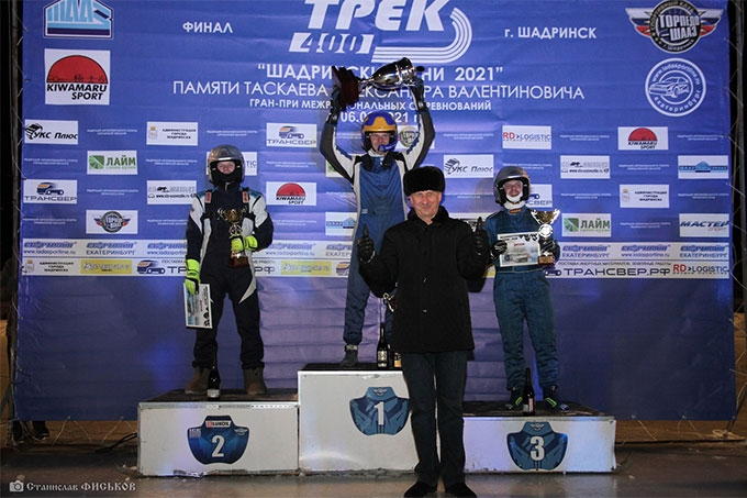 Андрей Тюрин - победитель финала гран-при по автогонкам в Шадринске
