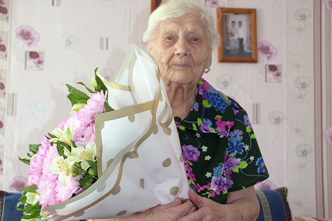 Анна Павловна Кокотеева отметила 100-летний юбилей