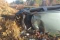 Водитель без прав допустил съезд с дороги