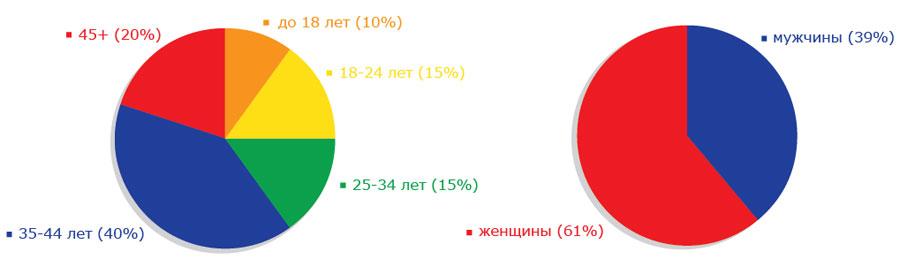 ТК ШАДР-инфо графики аудитории