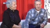 """Программа """"Интервью"""" - в гостях """"золотые молодожены"""" Виктор и Александра Клюшины"""