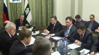 Встреча Алексея Кокорина с лидерами политических партий