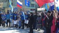 Митинг в честь годовщины присоединения Крыма