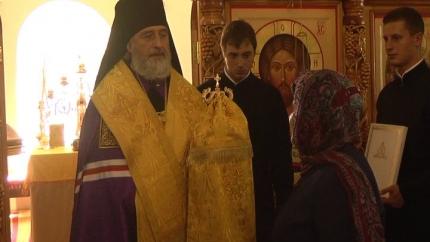 Вступление Василия Маштанова в должность архиепископа Шадринского и Далматовского