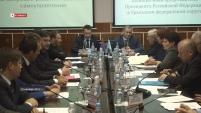 Совет по вопросам развития местного самоуправления с участием Игоря Холманских