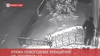 """Кража новогодних украшений возле магазина """"Яна"""""""